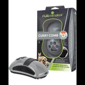 🐾🆕•FURminator• Curry Comb got short, dense Coats